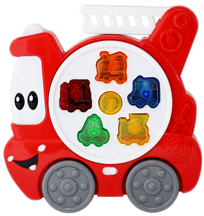 Bampi Обучающая игрушка Пожарная машина машина пламенный мотор volvo v70 пожарная охрана 870189