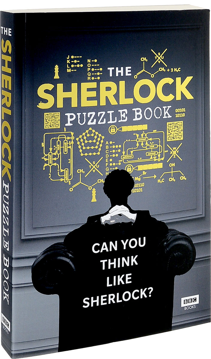 Sherlock: The Puzzle Book wooden take the ball from cage lock logic puzzle burr puzzles brain teaser