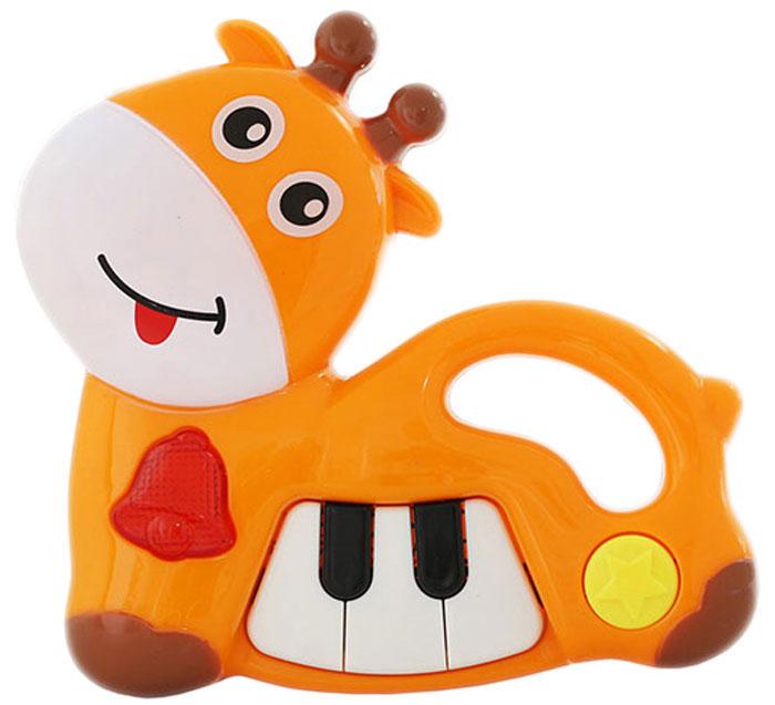 Bampi Музыкальный инструмент Пианино Жирафик музыкальные игрушки speedroll гибкое пианино s2088