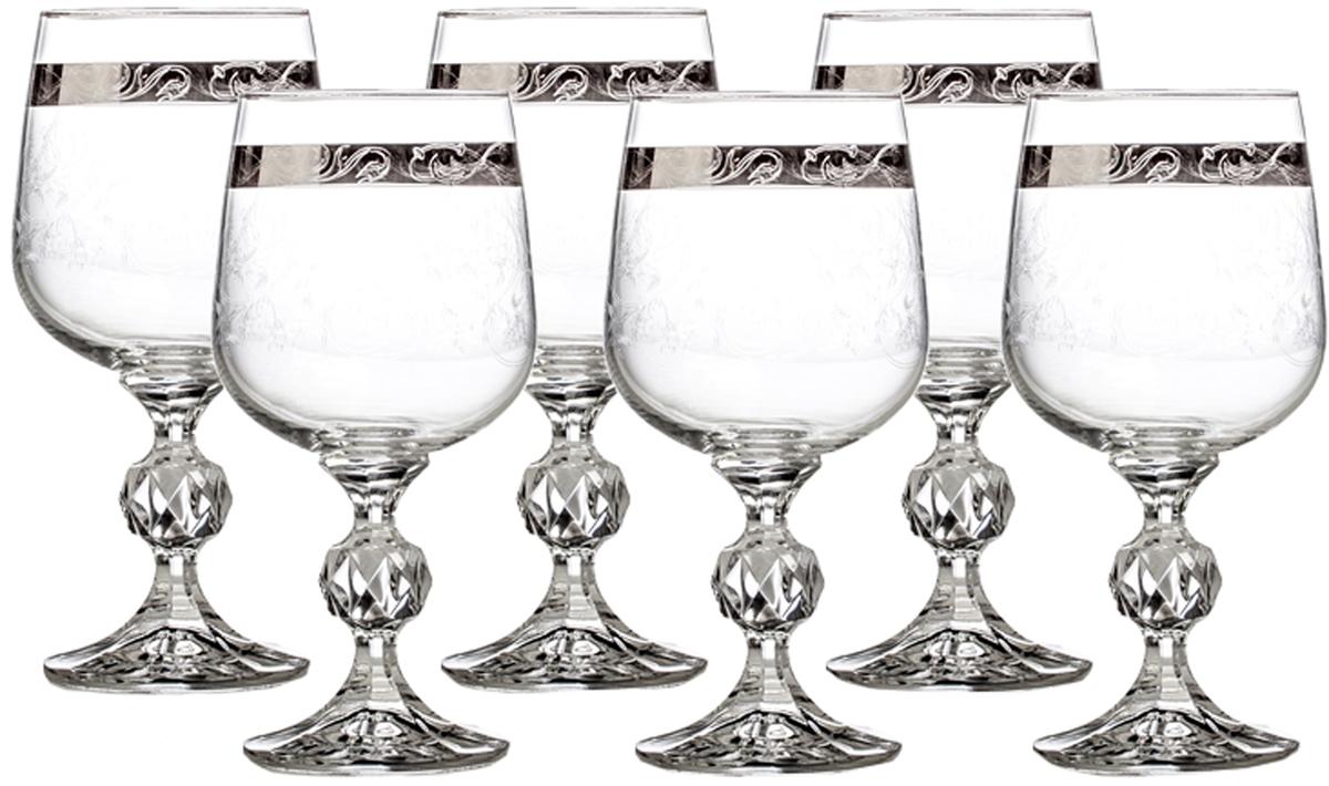 Набор бокалов для вина Crystalite Bohemia Клаудия, 230 мл, 6 шт40149`230`435963KНабор бокалов для вина Crystalite Bohemia Клаудия пригодится для любого торжества.В наборе 6 бокалов из выдувного стекла.Такой набор бокалов станет прекрасным подарком на любой праздник.