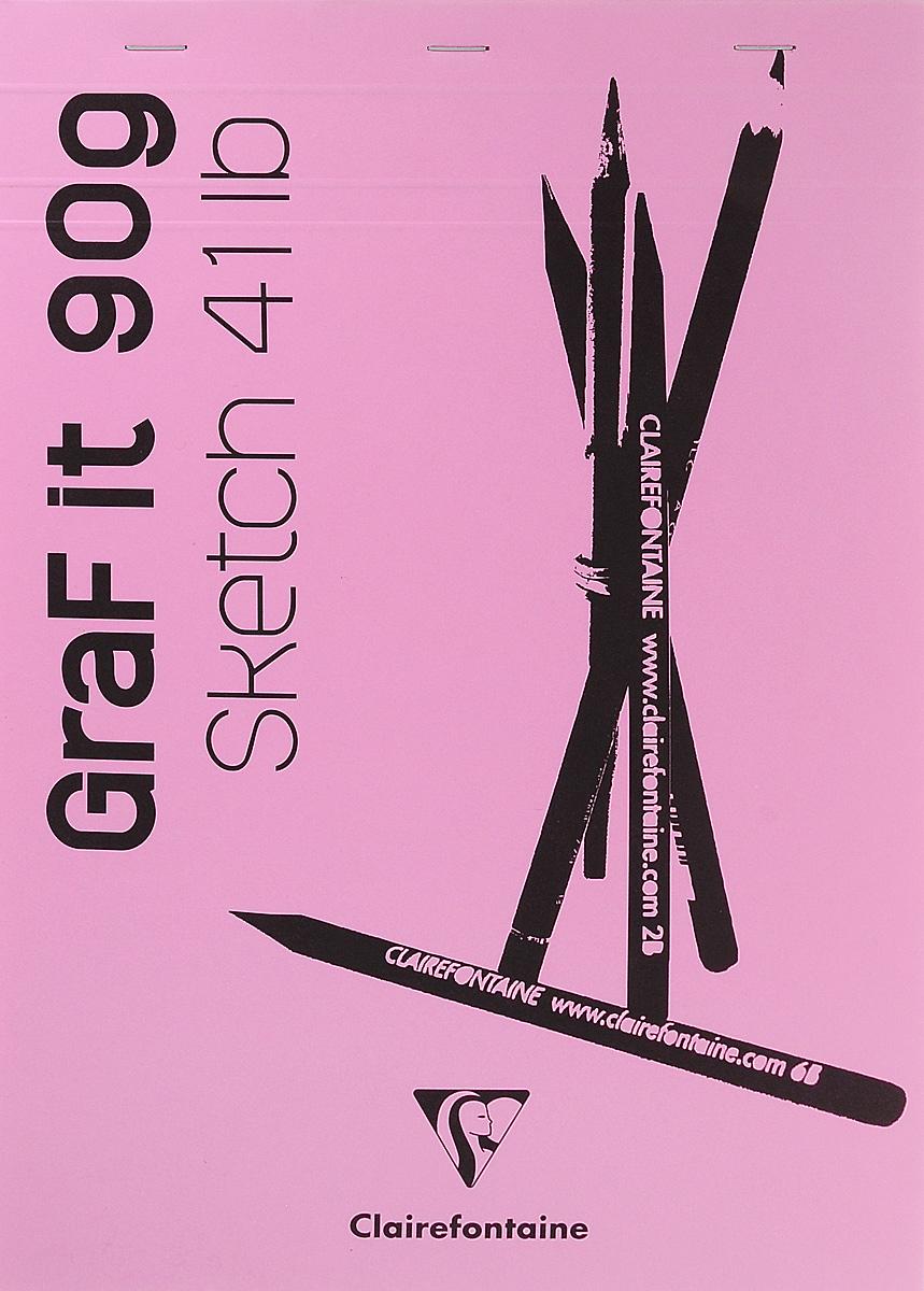 Блокнот Clairefontaine Graf It, для сухих техник, с перфорацией, цвет: розовый, формат A4, 80 листов9596007Оригинальный блокнот Clairefontaine идеально подойдет для памятных записей,любимых стихов, рисунков и многого другого. Плотная обложка предохраняет листы от порчи и замятия. Такой блокнот станет забавным и практичным подарком - он не затеряется средибумаг, и долгое время будет вызывать улыбку окружающих.
