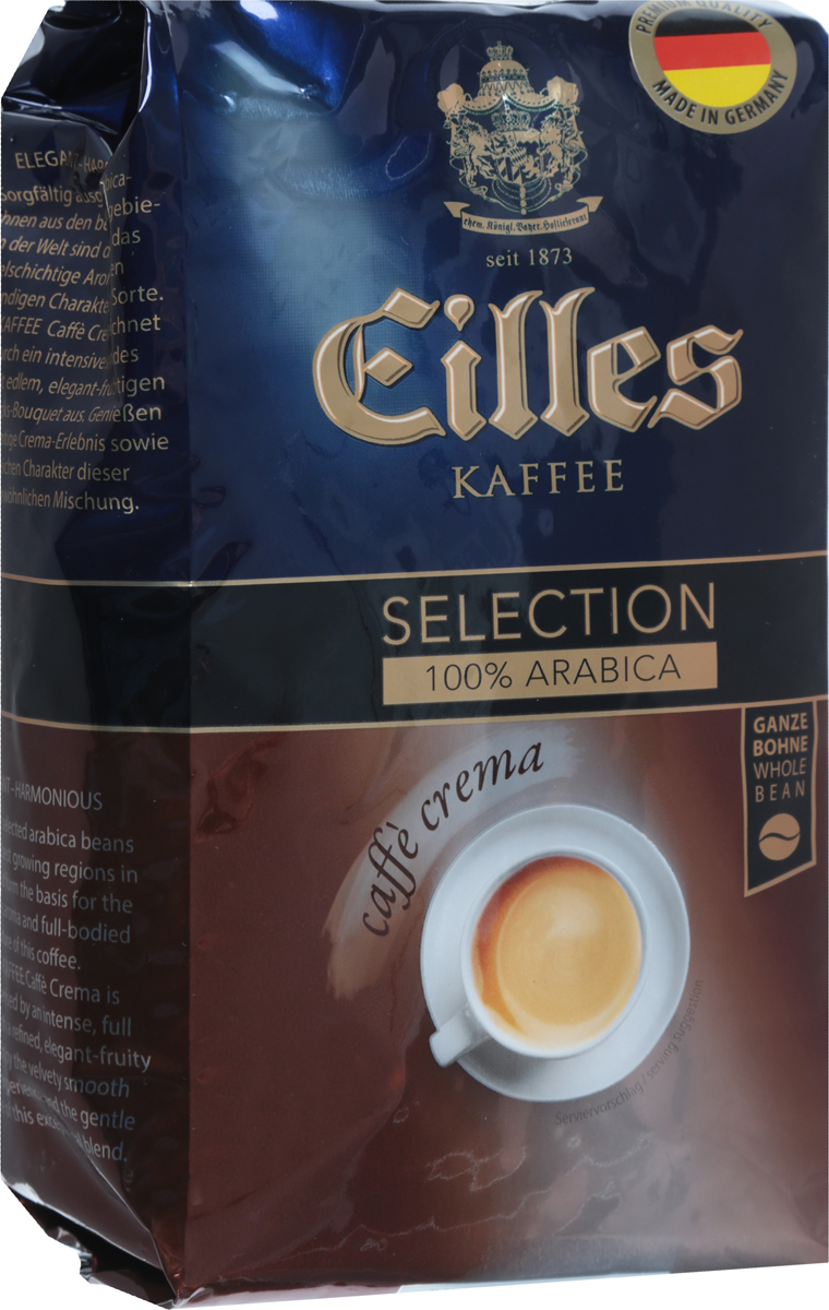 Фото J.J. Darboven Eilles Caffe Crema кофе в зернах, 500 г