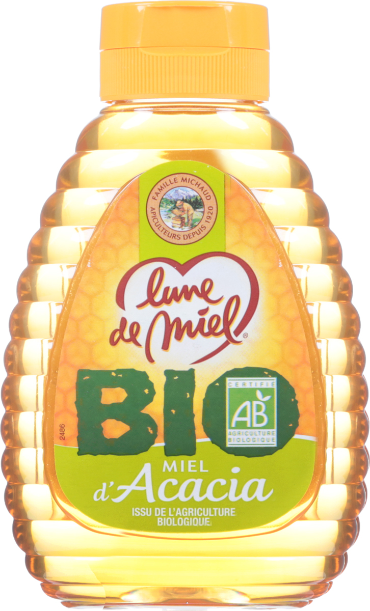 Lune de Miel Мед из акации BIO, диспенсер с дозатором, 250 г430130Мед из акации BIO приготовлен по уникальной биотехнологии, которая позволяет сохранять и активизировать все полезные свойства меда. Отличается прекрасными вкусовыми качествами, высокотонизирующим действием и большим количеством витаминов.Целебные сорта мёда. Статья OZON ГидУважаемые клиенты! Обращаем ваше внимание на возможные изменения в дизайне упаковки. Качественные характеристики товара остаются неизменными. Поставка осуществляется в зависимости от наличия на складе.