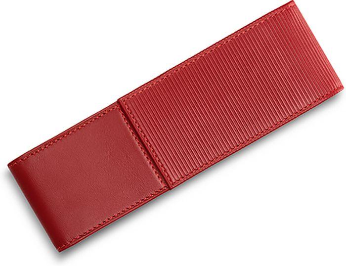 Lamy Чехол для ручки A315 цвет красный1325583Чехол на две ручки из высококачественной кожи наппа. С разделителями внутри. Закрывается с помощью магнита. Верхняя крышка имеет характерное бороздчатое тиснение.Цвет: красный