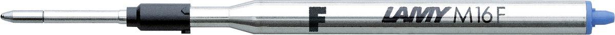 Lamy Стержень для шариковой ручки M16 синяя F1600148Стержень для шариковой ручки большого объема. Подходит для всех шариковых ручек Lamy. С водостойкой чернильной пастой. Размер F