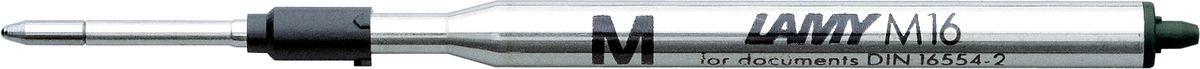 Lamy Стержень для шариковой ручки M16 черная M1600150Стержень для шариковой ручки большого объема. Подходит для всех шариковых ручек Lamy. С водостойкой чернильной пастой. Размер M
