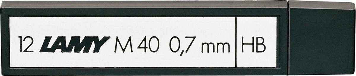 Lamy Грифель для карандаша HB 0,7 мм1602099Грифель для карандаша Lamy подходит для карандашей Lamy imporium, 2000, scala, accent, cp1, scribble.В упаковке 12 грифелей НВ (0,7 мм).Такой набор станет прекрасным помощников в рабочей деятельности.