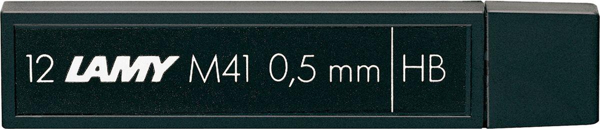 Lamy Грифель для карандаша HB 0,5 мм1602101Грифели мягкости HB (0,5 мм). Подходят для карандашей Lamy 2000, al-star, safari. В упаковке 12 грифелей.