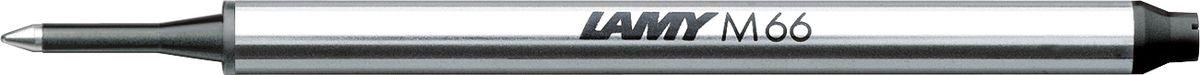 Lamy Стержень для роллера M66 черный1605755Стержень для роллеров LAMY M66. Пишет мягко и почти без нажима - подобно перьевой ручке, но имеет традиционный пишущий узел с шариком. Подходят к линейкам LAMY imporium, dialog 2, tipo, swift.