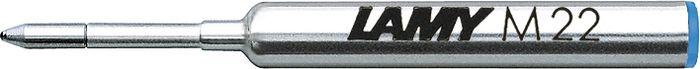 Lamy Стержень для шариковой ручки M22 синяя M1613380Компактный стержень для шариковых ручек Lamy pico и Lamy scribble. С водостойкой чернильной пастой. Размер M