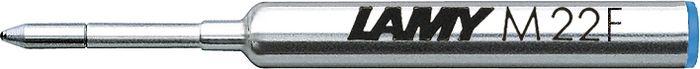 Lamy Стержень для шариковой ручки M22 синяя F1613382Компактный стержень для шариковых ручек Lamy pico и Lamy scribble. С водостойкой чернильной пастой. Размер F