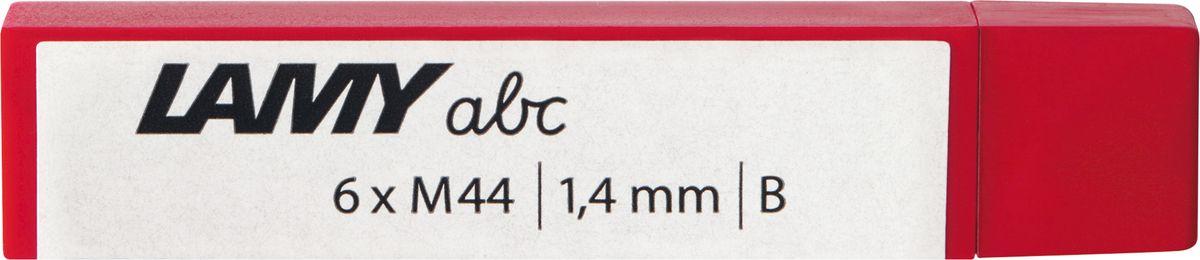 Lamy Грифель для карандаша B/М 1,4 мм1619666Грифель для карандаша Lamy подходит для карандашей Lamy abc.В упаковке 6 грифелей В/М (1,4 мм).Такой набор станет прекрасным помощников в рабочей деятельности.