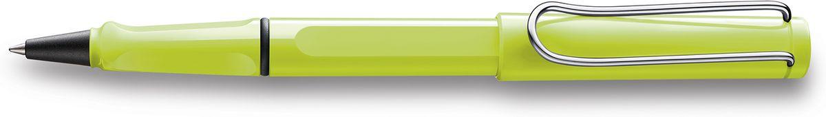 Lamy Safari Ручка-роллер 343 M63 черная цвет корпуса неоновый лайм1628194LAMY safariСамая популярная ручка бренда LAMY.Создана в 1980 году в коллаборации с дизайнерами и психологами специально для подростков. Сейчас трудно найти в Европе школу или университет, где не писали бы LAMY safari. В 80-е дизайн этой ручки многим казался немного странным, ни на что непохожим, что, вероятно, и привлекло молодежь, которую уже не устраивал традиционный дизайн обычных ручек. LAMY safari хорошо показала себя в деле: ее эргономика такова, что рука не устает даже от долгого письма. Сейчас этими ручками пишут и рисуют, а также их коллекционируют – помимо широкой гаммы постоянных цветов, каждый год выходит лимитированный выпуск ручек в самом модном цвете.Выполнена из прочного ABS пластика. Эргономичный хват, позволяющий пальцам принять правильное положение при письме. Металлический клип на колпачке напоминает по форме канцелярскую скрепку. Чернильный роллер пишет мягко и почти без нажима - подобно перьевой ручке, но прост в обращении, как шариковая, т.к. при письме чернила подаются на бумагу с помощью шарика на конце стержня. Используется со стержнями LAMY М63.Дизайн: Вольфганг ФабианИстория бренда LAMY насчитывает более 80-ти лет, а его философия заключается в слогане Дизайн. Сделано в Германии. Компания получила более 100 самых престижных дизайнерских наград. Все пишущие инструменты LAMY производятся на фабрике в Гейдельберге (Германия).