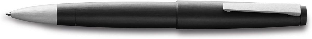 Lamy 2000 Ручка-роллер 301 M63 черная цвет корпуса черный4001054LAMY 2000 (301)Эта ручка – икона стиля, олицетворяющая собой дизайн LAMY. Создана в традициях школы Баухауз с ее девизом Форма следует за функцией. LAMY 2000 свободна от излишеств как в материалах, так и в дизайне: функциональность и минимализм – ее главные черты. Корпус сигарной формы удобно лежит в руке. Изготовлен из легкого и прочного поликарбоната, который позволяет соединяться деталям с эффектом бесшовности . Идеально выверен по весу и балансу, что создает невероятный комфорт при письме. Поверхности обработаны брашинг-полировкой. Массивный подпружиненный клип на колпачке довершает лаконичный и элегантный внешний вид этой ручки.Чернильный роллер пишет мягко и почти без нажима - подобно перьевой ручке, но прост в обращении, как шариковая, т.к. при письме чернила подаются на бумагу с помощью шарика на конце стержня. Используется со стержнями LAMY М63.Комплектация: подарочный футляр, гарантийная карточка, буклет.Дизайн: Герд А. Мюллер История бренда LAMY насчитывает более 80-ти лет, а его философия заключается в слогане Дизайн. Сделано в Германии. Компания получила более 100 самых престижных дизайнерских наград. Все пишущие инструменты LAMY производятся на фабрике в Гейдельберге (Германия).