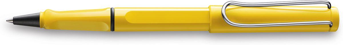 Lamy Safari Ручка-роллер 318 M63 черная цвет корпуса желтый4001115LAMY safariСамая популярная ручка бренда LAMY.Создана в 1980 году в коллаборации с дизайнерами и психологами специально для подростков. Сейчас трудно найти в Европе школу или университет, где не писали бы LAMY safari. В 80-е дизайн этой ручки многим казался немного странным, ни на что непохожим, что, вероятно, и привлекло молодежь, которую уже не устраивал традиционный дизайн обычных ручек. LAMY safari хорошо показала себя в деле: ее эргономика такова, что рука не устает даже от долгого письма. Сейчас этими ручками пишут и рисуют, а также их коллекционируют – помимо широкой гаммы постоянных цветов, каждый год выходит лимитированный выпуск ручек в самом модном цвете.Выполнена из прочного ABS пластика. Эргономичный хват, позволяющий пальцам принять правильное положение при письме. Металлический клип на колпачке напоминает по форме канцелярскую скрепку. Чернильный роллер пишет мягко и почти без нажима - подобно перьевой ручке, но прост в обращении, как шариковая, т.к. при письме чернила подаются на бумагу с помощью шарика на конце стержня. Используется со стержнями LAMY М63.Дизайн: Вольфганг ФабианИстория бренда LAMY насчитывает более 80-ти лет, а его философия заключается в слогане Дизайн. Сделано в Германии. Компания получила более 100 самых престижных дизайнерских наград. Все пишущие инструменты LAMY производятся на фабрике в Гейдельберге (Германия).