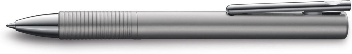 Lamy Tipo Ручка-роллер 338 M66 черная цвет корпуса графит4001188LAMY tipo (338)Быстрый клипЧернильный роллер без колпачка. Пишет мягко и почти без нажима - подобно перьевой ручке, но прост в обращении, как шариковая, т.к. при письме чернила подаются на бумагу с помощью шарика на конце стержня. Быстро приводится в готовность к письму благодаря уникальному механизму активации с помощью клипа.Все детали корпуса из анодированного алюминия. Используется со стержнем LAMY M66 Поставляется в подарочной коробке.Дизайн: Вольфганг ФабианИстория бренда Lamy насчитывает более 80-ти лет, а его философия заключается в слогане Дизайн. Сделано в Германии. Компания получила более 100 самых престижных дизайнерских наград. Все пишущие инструменты Lamy производятся на фабрике в Гейдельберге (Германия).