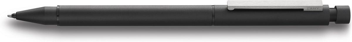Lamy Ручка мультисистемная Cp1 M21 цвет корпуса черный4001268Элегантная модель 2 в одном от дизайнера Герда А. Мюллера – создателя знаменитой ручки Lamy 2000.Тонкий цилиндрический корпус с матовым черным покрытием. На корпусе стальной клип сильной фиксации.Пишущая система: черный шариковый стержень и автоматический карандаш с грифелем 0,5 мм. Под колпачком кнопки активации грифеля находится ластик.Стержни подаются с помощью поворотного механизма корпуса.Используется со стержнями Lamy M21, грифелями Lamy M41 и ластиком Lamy Z15.Комплектация: подарочный футляр, гарантия, буклет.Дизайн: Герд А. МюллерИстория бренда Lamy насчитывает более 80-ти лет, а его философия заключается в слогане Дизайн. Сделано в Германии. Компания получила более 100 самых престижных дизайнерских наград. Все пишущие инструменты Lamy производятся на фабрике в Гейдельберге (Германия).