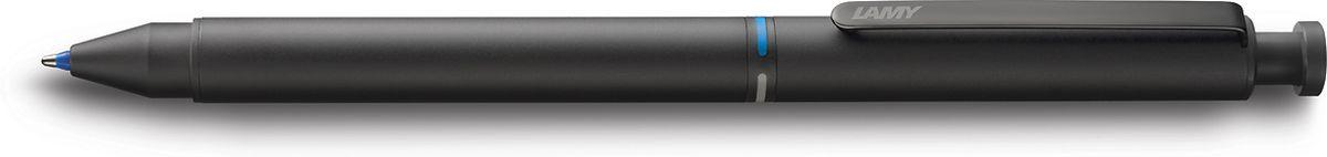 Lamy Ручка мультисистемная St M21 цвет корпуса черный4001274Лаконичная и элегантная ручка 3 в одном от легендарного дизайнера Герда А. Мюллера – создателя самых знаменитых моделей Lamy.Металлический корпус матового черного цвета. Клип из листовой стали, обеспечивающий прочную фиксацию.Пишущая система: черный и красный шариковые стержни, а также автоматический карандаш с грифелем 0,5 мм. Под колпачком кнопки активации грифеля находится ластик.Стержни подаются с помощью поворотного механизма корпуса, на котором имеется цветовая индикация.Используется со стержнями Lamy M21, грифелями Lamy M41 и ластиком Lamy Z15.Комплектация: подарочный футляр, гарантия, буклет.Дизайн: Герд А. Мюллер История бренда Lamy насчитывает более 80-ти лет, а его философия заключается в слогане Дизайн. Сделано в Германии. Компания получила более 100 самых престижных дизайнерских наград. Все пишущие инструменты Lamy производятся на фабрике в Гейдельберге (Германия).