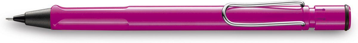 Lamy Карандаш механический Safari цвет розовый4026644Самая популярная линейка бренда Lamy.Корпус этого автоматического карандаша выполнен из прочного ABS пластика. Эргономичный хват позволяет пальцам принять правильное положение при письме. Металлический клип на корпусе напоминает по форме канцелярскую скрепку. Пишущий узел активируется с помощью кнопки. Под крышкой кнопки находятся ластик и игла для чистки канала грифеля. Грифельный канал утапливается.Используется с грифелями Lamy M41 (0,5 мм) и ластиком c чистящей иглой Lamy Z18.Поставляется в подарочной коробке. Дизайн: Вольфганг ФабианИстория бренда Lamy насчитывает более 80-ти лет, а его философия заключается в слогане Дизайн. Сделано в Германии. Компания получила более 100 самых престижных дизайнерских наград. Все пишущие инструменты Lamy производятся на фабрике в Гейдельберге (Германия).