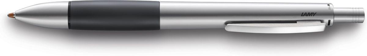 Lamy Ручка мультисистемная Accent M21 цвет корпуса серый металлик4026692Модель Lamy accent отличается особенным решением секции хвата: ее немного утолщенная и удобная форма действительно является интересным и функциональным дизайнерским акцентом. При производстве используются высококлассные материалы. Металлический корпус с резиновым нескользящим хватом и пружинным клипом.Ручка 4 в одном: шариковые стержни черного, синего и красного цветов, а также автоматический карандаш с грифелем 0,7 мм. Под крышкой кнопки активации пишущей системы находится ластик.Кнопочный механизм подачи пишущего узла. Автоматическая подача нужного стержня согласно цветовой индикации. Сбоку корпуса находится кнопка сброса пишущей системы.Используется со стержнями Lamy M21, грифелями Lamy M40 и ластиком Lamy Z15.Комплектация: подарочный футляр, гарантийная карточка, буклет.Дизайн: Phoenix Product DesignИстория бренда Lamy насчитывает более 80-ти лет, а его философия заключается в слогане Дизайн. Сделано в Германии. Компания получила более 100 самых престижных дизайнерских наград. Все пишущие инструменты Lamy производятся на фабрике в Гейдельберге (Германия).