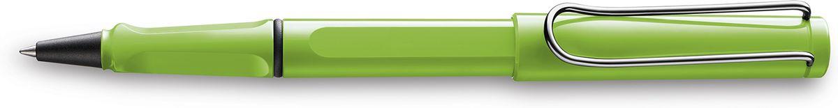 Lamy Safari Ручка-роллер 313 M63 синяя цвет корпуса зеленый4030640LAMY safari Самая популярная ручка бренда LAMY. Создана в 1980 году в коллаборации с дизайнерами и психологами специально для подростков. Сейчас трудно найти в Европе школу или университет, где не писали бы LAMY safari. В 80-е дизайн этой ручки многим казался немного странным, ни на что непохожим, что, вероятно, и привлекло молодежь, которую уже не устраивал традиционный дизайн обычных ручек. LAMY safari хорошо показала себя в деле: ее эргономика такова, что рука не устает даже от долгого письма. Сейчас этими ручками пишут и рисуют, а также их коллекционируют – помимо широкой гаммы постоянных цветов, каждый год выходит лимитированный выпуск ручек в самом модном цвете. Выполнена из прочного ABS пластика. Эргономичный хват, позволяющий пальцам принять правильное положение при письме. Металлический клип на колпачке напоминает по форме канцелярскую скрепку.Чернильный роллер пишет мягко и почти без нажима - подобно перьевой ручке, но прост в обращении, как шариковая, т.к. при письме чернила подаются на бумагу с помощью шарика на конце стержня. Используется со стержнями LAMY М63. Дизайн: Вольфганг Фабиан История бренда LAMY насчитывает более 80-ти лет, а его философия заключается в слогане Дизайн. Сделано в Германии. Компания получила более 100 самых престижных дизайнерских наград. Все пишущие инструменты LAMY производятся на фабрике в Гейдельберге (Германия).