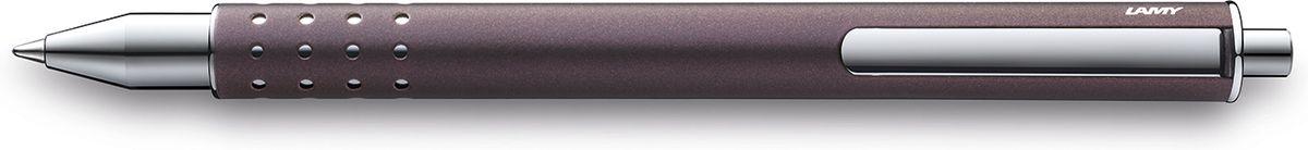 Lamy Swift Ручка-роллер 335 M66 черная цвет корпуса сиреневый4032078LAMY swift (335)Чернильный роллер без колпачка. В этой модели единственный в своем роде дизайн соединен с инновативной функциональностью.32 круглых отверстия не только оптически отделяют гладкий корпус от зоны хвата, но и не дают пальцам скользить при письме. Роллер пишет мягко и почти без нажима - подобно перьевой ручке, но прост в обращении, как шариковая, т.к. при письме чернила подаются на бумагу с помощью шарика на конце стержня.Инновативный кнопочный механизм активирует пишущий узел и одновременно утапливает клип внутрь корпуса. Таким образом, клип не мешает при письме. Когда стержень убирается внутрь, клип выдвигается наружу – теперь ручку можно прикрепить к карману пиджака или к обложке ежедневника.Полностью металлический корпус.Сиреневый матовый лак.Используется со стержнем LAMY M66. Комплектация: подарочный футляр, гарантийная карточка, буклет.Дизайн: Вольфганг ФабианИстория бренда Lamy насчитывает более 80-ти лет, а его философия заключается в слогане Дизайн. Сделано в Германии. Компания получила более 100 самых престижных дизайнерских наград. Все пишущие инструменты Lamy производятся на фабрике в Гейдельберге (Германия).