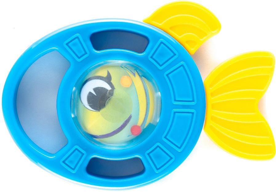 Пластмастер Погремушка-грызунок Рыбка