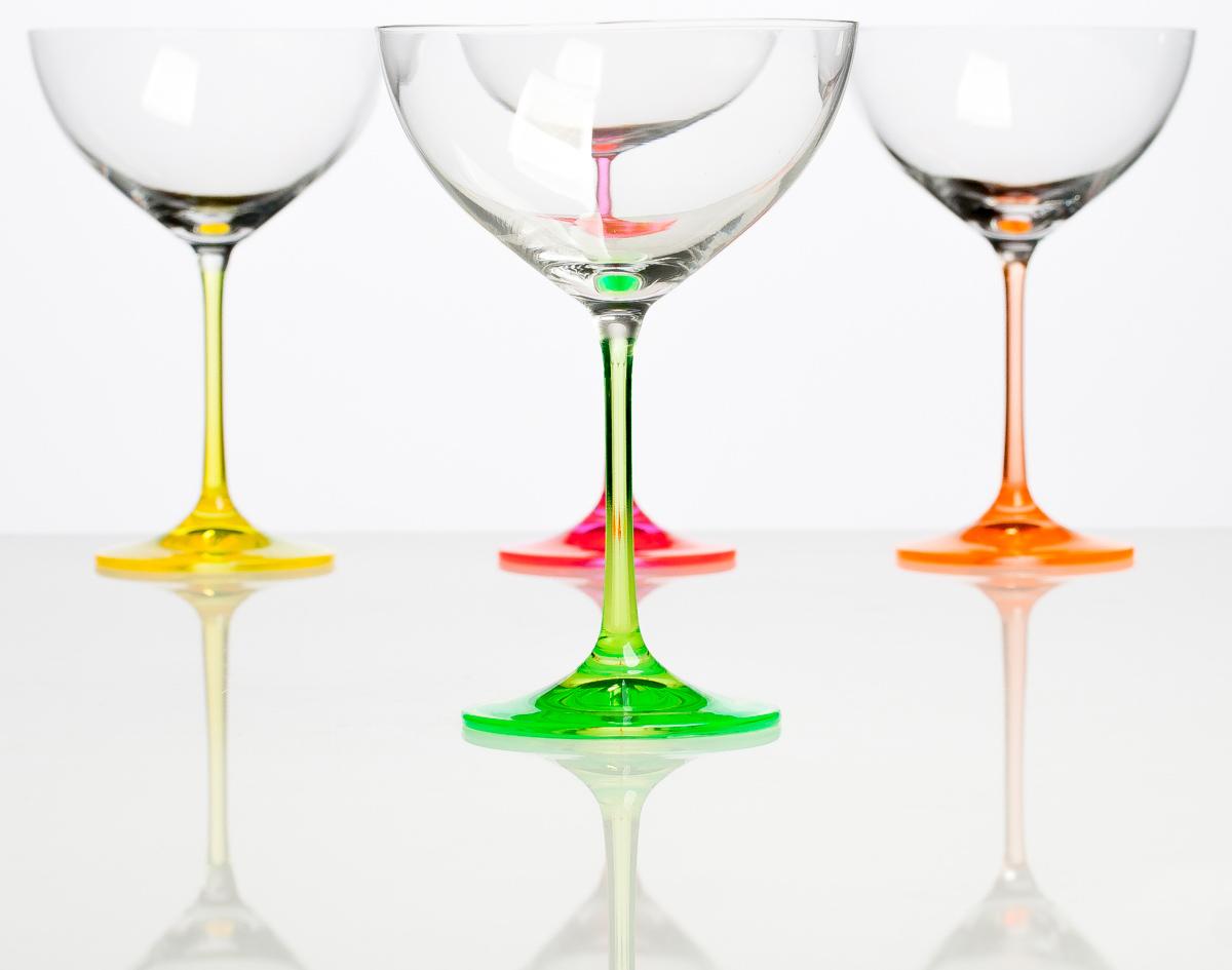 Набор бокалов для ликера Crystall Bohemia Неон, 340 мл, 4 шт лампа автомобильная philips 13821b2 бл 2