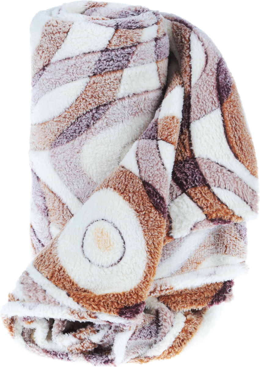 Плед Buenas Noches Bamboo. Кольца, 150 х 200 см. 8674486744Плед Buenas Noches выполнен из 100% полиэстера и оформлен объемным рисунком. Полиэстер - считается одной из самых популярных тканей. Это материал синтетического происхождения из полиэфирных волокон. Изделия из полиэстера - легко стираются. После стирки очень быстро высыхают. Прочная ткань, за время использования не растягивается и не садится. Этот плед универсален - может использоваться в качестве пледа, легкого одеяла или нарядного покрывала. Плед Buenas Noches- идеальное решение для вашего интерьера!
