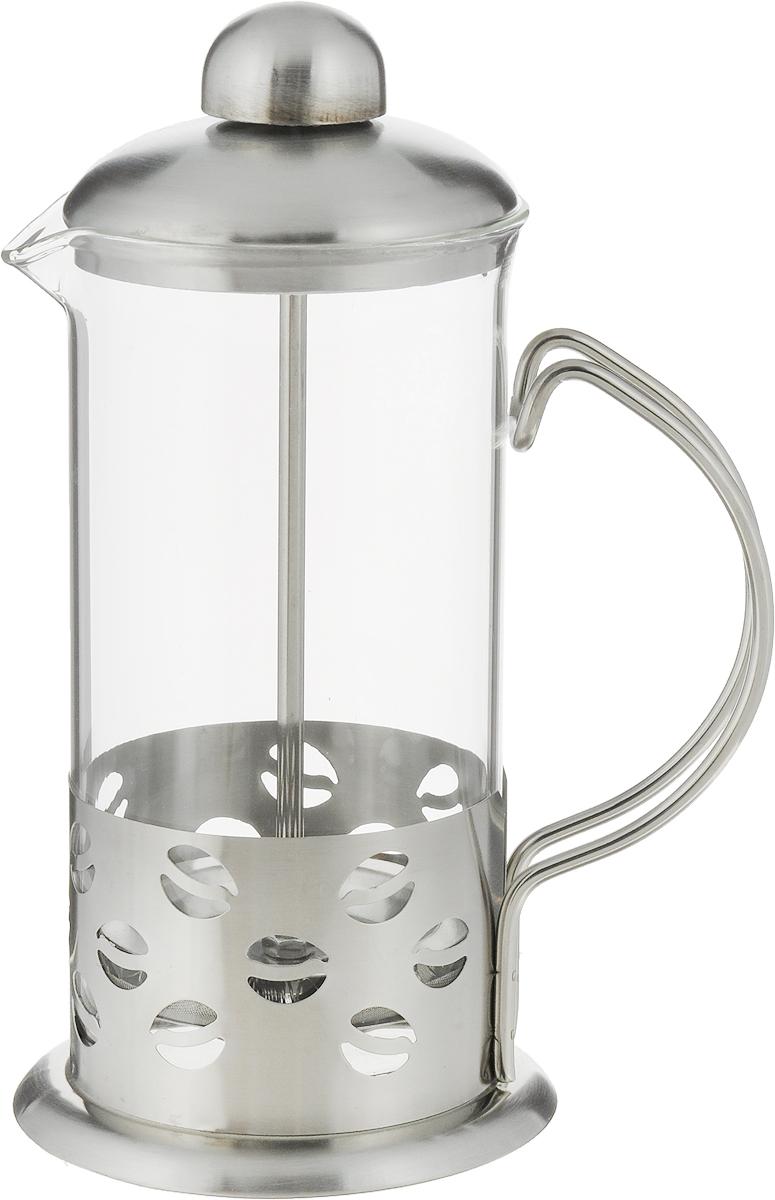 Френч-пресс Bohmann, 350 мл. 9536BHВН-9536Френч-пресс Bohmann используется для заваривания крупнолистового чая, кофе среднего помола, травяных сборов. Изготовлен из высококачественной нержавеющей стали и термостойкого стекла, выдерживающего высокую температуру, что придает ему надежность и долговечность. Френч-пресс Bohmann незаменим для любителей чая и кофе.Можно мыть в посудомоечной машине.Объем: 350 мл.Высота (с учетом крышки): 18 см.Диаметр (по верхнему краю): 7,5 см.