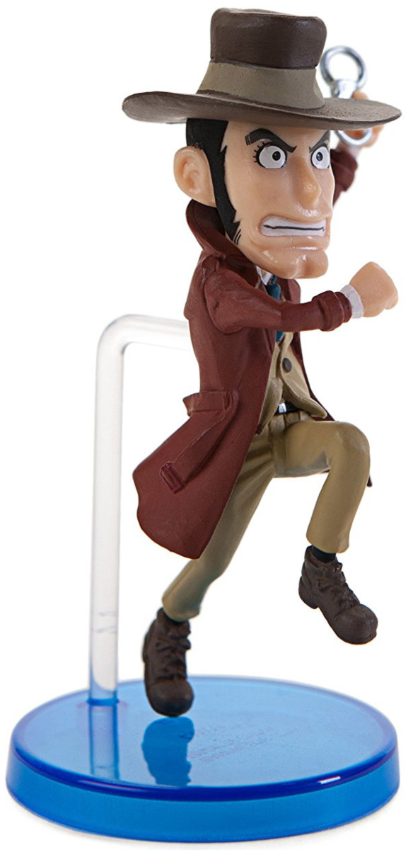 Bandai Фигурка Lupin The Third WCF Collection 1 Inspector Zenigata japan anime lupin the 3rd original bandai tamashii nations shf s h figuarts toy action figure fujiko mine