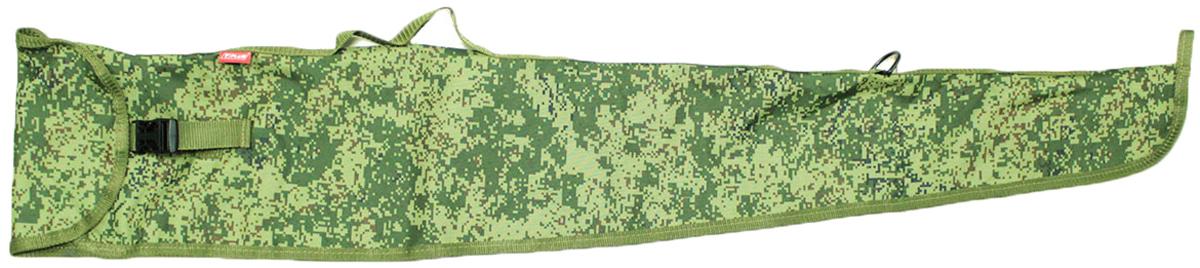 Чехол оружейный Tplus 110, цвет: цифраT009923Предназначен для хранения и транспортировки оружия. Чехол имеет одно отделение, выполнен из прочной ткани, которая не промокает, не истирается и легко очищается от загрязнения.