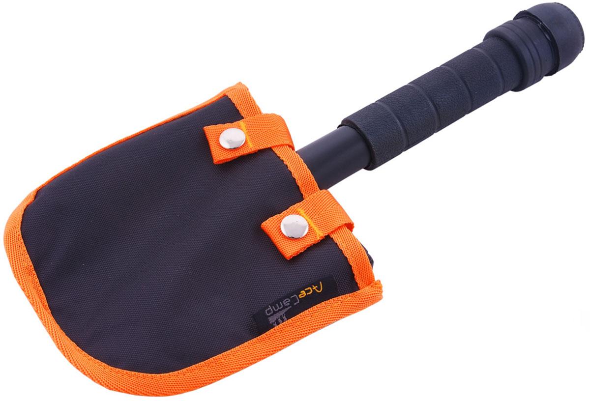 Лопата-мультитул AceCamp Выживающий, цвет: черный. 25862586Лопата-мультитул Выживающий SURVIVOR Multi-tool Shovel от AceCamp. Многофункциональная лопата для выживания включает лопату, топор, пилу, молоток, гаечный ключ, гвоздодер, открывалку, компас, а так же набор выживания внутри герметичного отсека, расположенного в ручке лопаты: аварийный нож, леска, рыболовные крючки и спички. На любой случай жизни! Поставляется в комплекте с ножнами для размещения на пояс или на снаряжение. Размеры: 30 х 11,5 см. Вес: 323 г.