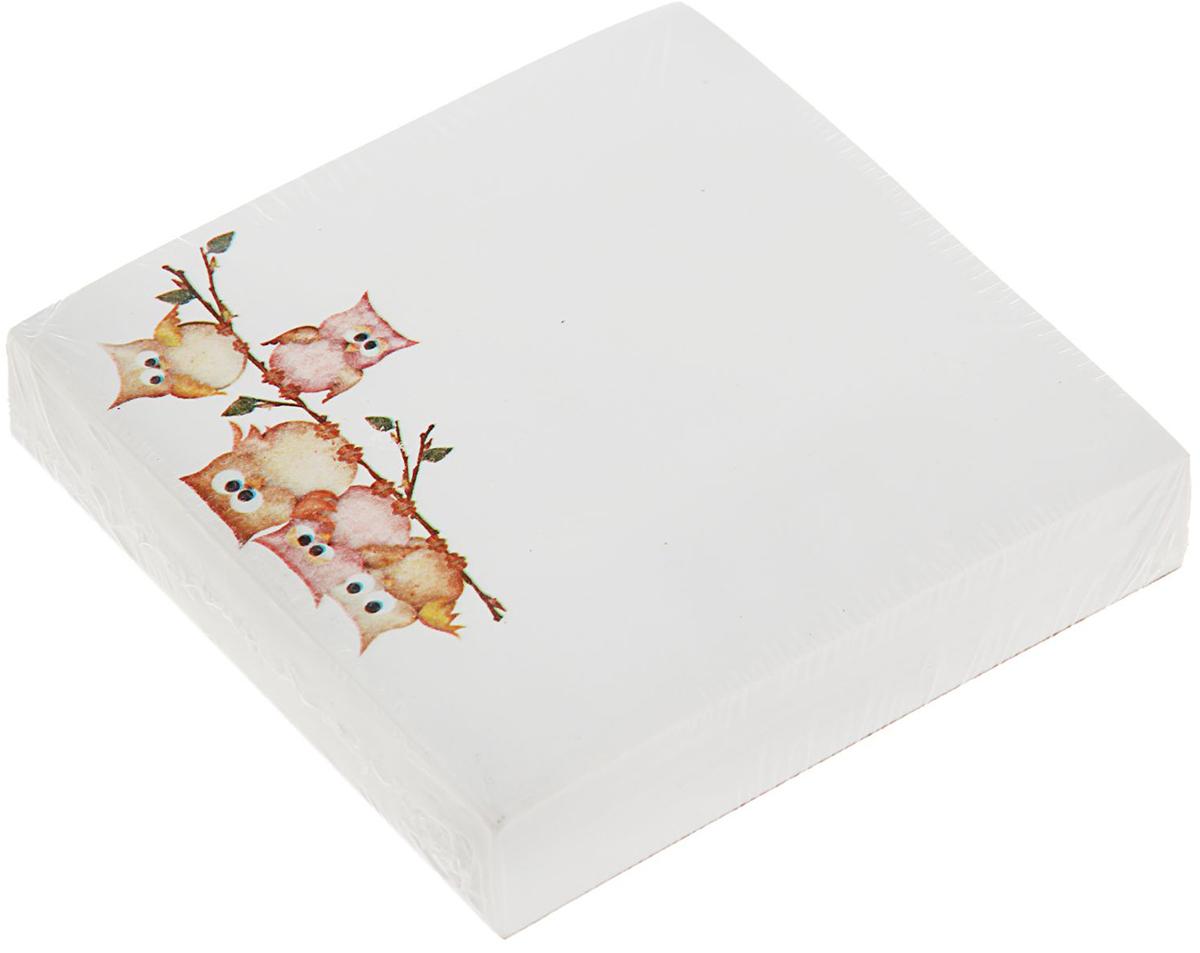 Фолиант Блок для записей Совы 8,5 x 8,5 см 200 листов1545967Невозможно представить нашу жизнь без праздников! Мы всегда ждем их и предвкушаем, обдумываем, как проведем памятный день, тщательно выбираем подарки и аксессуары, ведь именно они создают и поддерживают торжественный настрой. Блок бумаги для записей 8.5х8.5см, 200л, 70г Совы, офсет — это отличный выбор, который привнесет атмосферу праздника в ваш дом!Часто появляется необходимость оставить небольшое послание коллеге, сделать пометку для родных или запомнить нужный телефон?Чтобы зафиксировать важную информацию, достаточно иметь при себе неброский, но необходимый в быту предмет — Блок бумаги для записей 8.5х8.5см, 200л, 70г Совы, офсет. Этот канцелярский аксессуар займет минимум места в сумке или на рабочем столе.