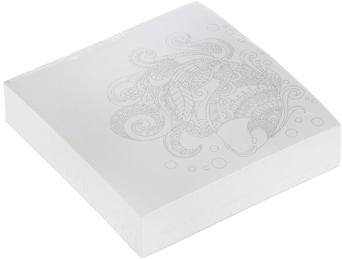 Фолиант Блок для записей Антистресс 8,5 x 8,5 см 200 листов 16773721677372Благодаря специальной проклейки листы блока не рассыпаются. Порядок на столе гарантирован.Позволяет снять нервное напряжение, раскрашивая специально подобранный рисунок. Особенности: - наличие картинки антистресс; -листы склеены в блок.