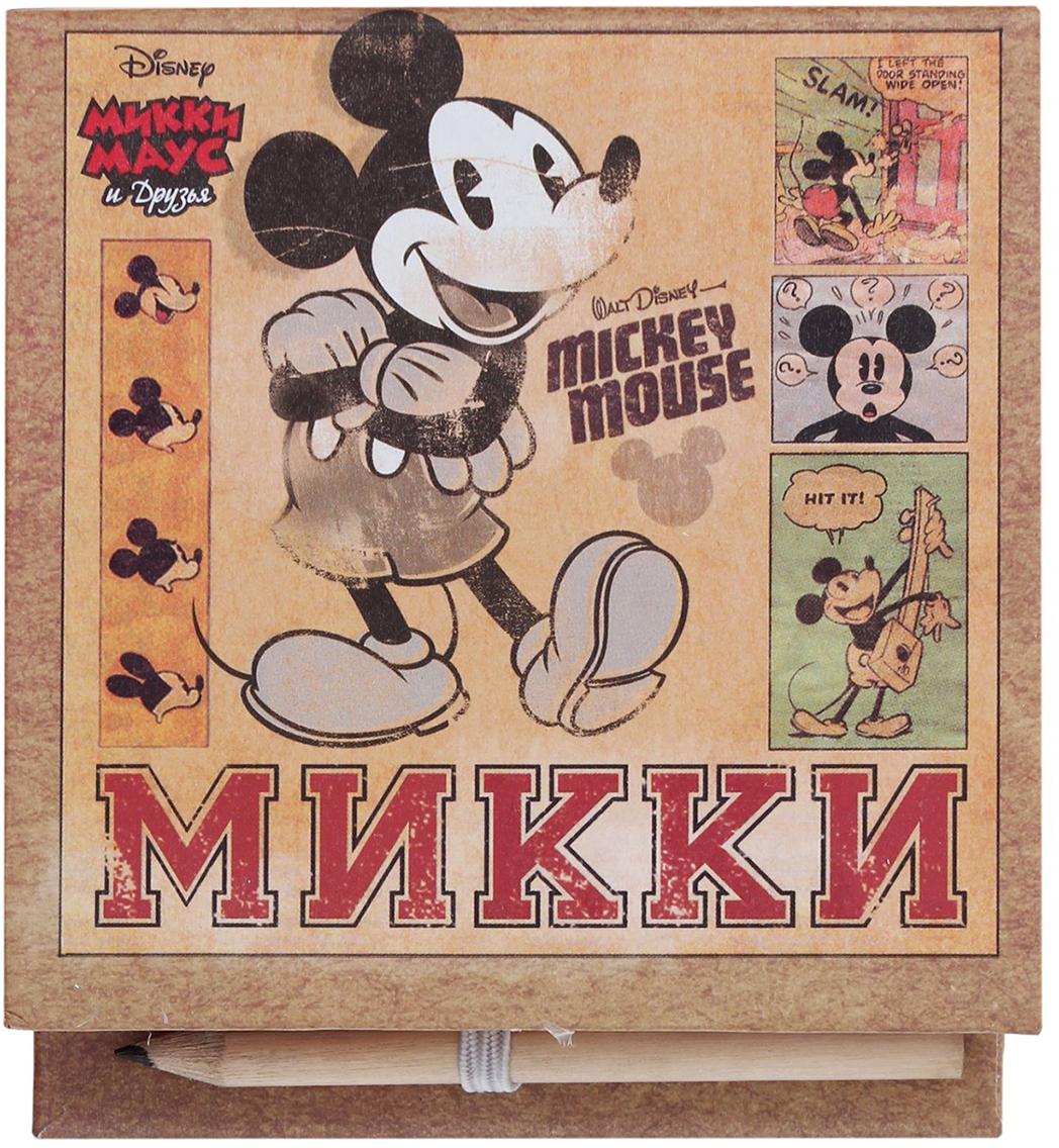 Disney Блок для записей Для гениальных идей 10 x 10 см 150 листов1158867Заряжайтесь позитивом каждый день вместе с любимыми героями мультфильмов Disney. Специально для поклонников Микки Мауса и его друзей мы разработали целую серию канцелярских принадлежностей.Футляр содержит блок на 100 дизайнерских листов размером 9 х 9 см. Оставляйте на них сообщения, записывайте ценные мысли, составляйте списки или стройте планы. С оригинальным футляром из плотного картона записи не потеряются, а на столе будет порядок. Чтобы не пришлось искать карандаш, мы поместили его на внутреннюю сторону обложки, теперь он всегда под рукой.Побалуйте себя или близких эффектными аксессуарами.