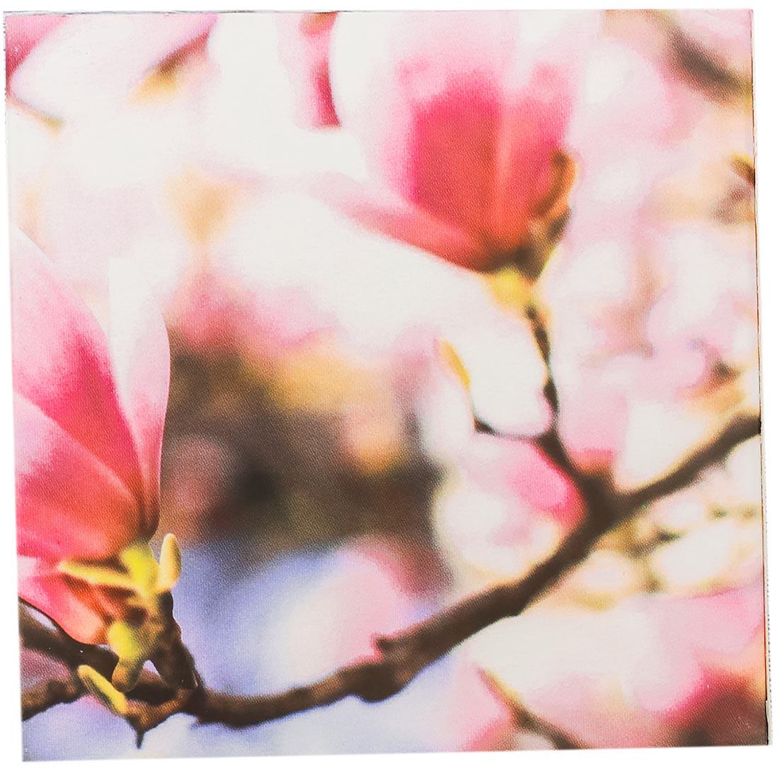 Блок для записей Розовые цветы 8 x 8 см 100 листов2829552Футляр с бумажным блоком для записей Розовые цветы — сувенир в полном смысле этого слова. И главная его задача — хранить воспоминание о месте, где вы побывали, или о том человеке, который подарил данный предмет. Преподнесите эту вещь своему другу, и она станет достойным украшением его дома.Невозможно представить нашу жизнь без праздников! Мы всегда ждем их и предвкушаем, обдумываем, как проведем памятный день, тщательно выбираем подарки и аксессуары, ведь именно они создают и поддерживают торжественный настрой. Футляр с бумажным блоком для записей Розовые цветы — это отличный выбор, который привнесет атмосферу праздника в ваш дом!Часто появляется необходимость оставить небольшое послание коллеге, сделать пометку для родных или запомнить нужный телефон?Чтобы зафиксировать важную информацию, достаточно иметь при себе неброский, но необходимый в быту предмет — Футляр с бумажным блоком для записей Розовые цветы. Этот канцелярский аксессуар займет минимум места в сумке или на рабочем столе.