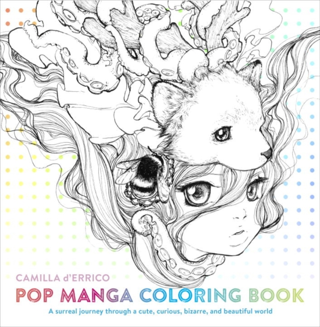 Pop Manga Coloring Book british museum around the world colouring book