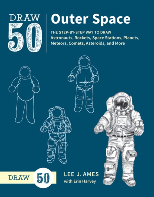 Draw 50 Outer Space astronauts level 1