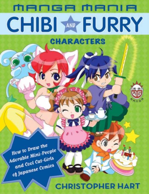 Manga Mania: Chibi and Furry Characters ободки pretty mania ободок
