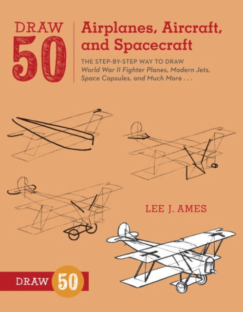 Draw 50 Airplanes, Aircraft, and Spacecraft how to draw fairies and mermaids
