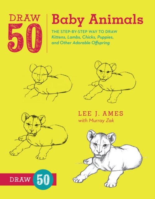 Draw 50 Baby Animals how to draw fairies and mermaids