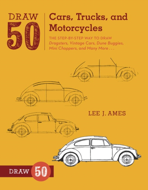 Draw 50 Cars, Trucks, and Motorcycles how to draw fairies and mermaids