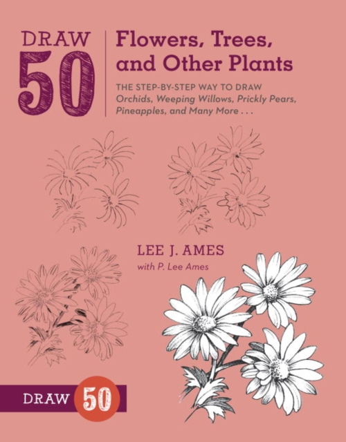 Draw 50 Flowers, Trees, and Other Plants how to draw fairies and mermaids