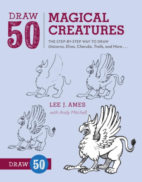 Draw 50 Magical Creatures how to draw fairies and mermaids