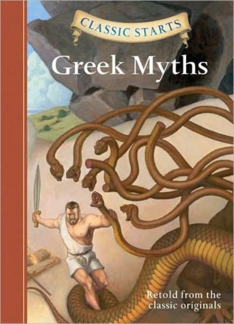 Classic Starts: Greek Myths купить