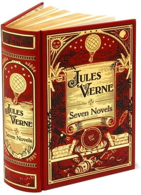 Jules Verne: Seven Novels verne j around the world in 80 days reader книга для чтения
