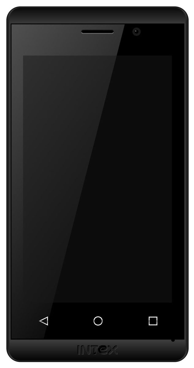 Intex Aqua Joy 3G, Black
