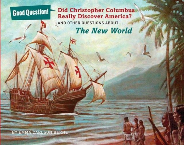 Did Christopher Columbus Really Discover America? ножницы для живой изгороди truper 18452