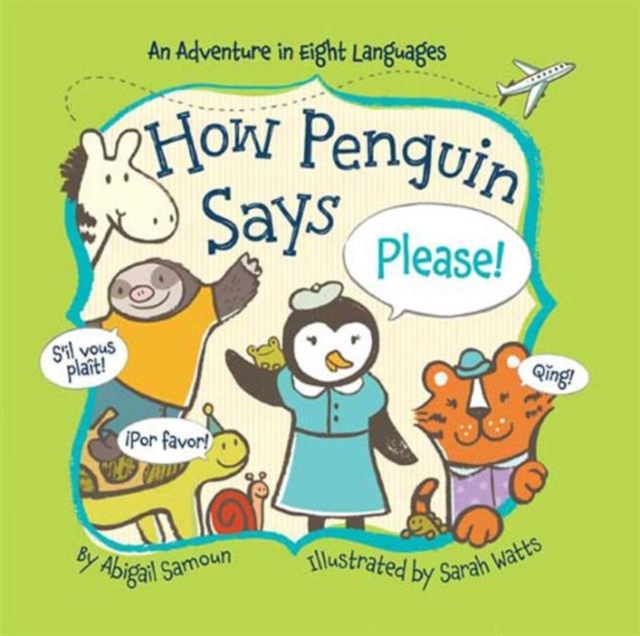 How Penguin Says Please! пинетки митенки blue penguin puku